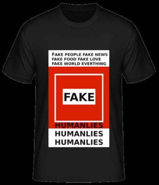 Everything's fake